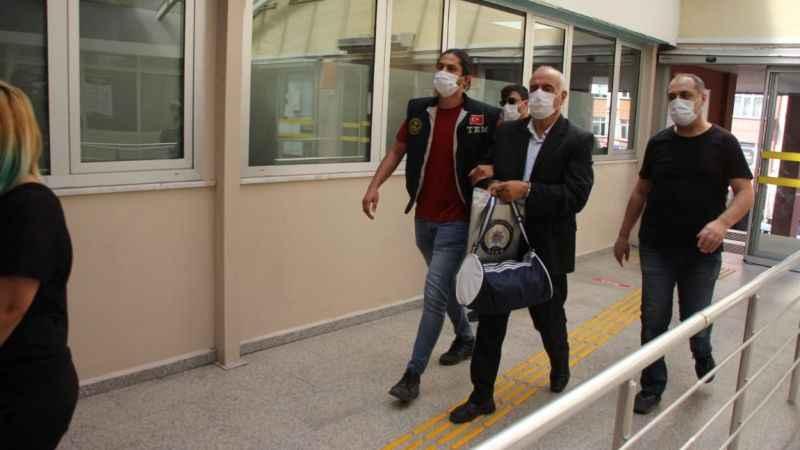 Terör operasyonunda gözaltına alınan 7 şüpheli adliyeye sevk edildi