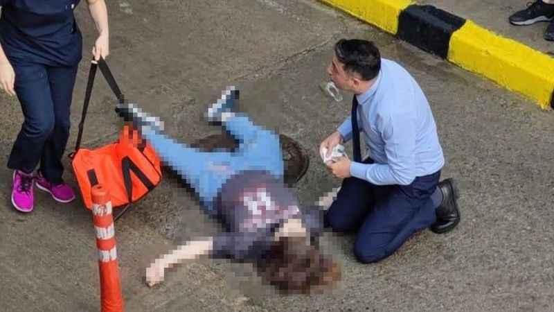 AVM terasından atlayan genç kız hayatını kaybetti