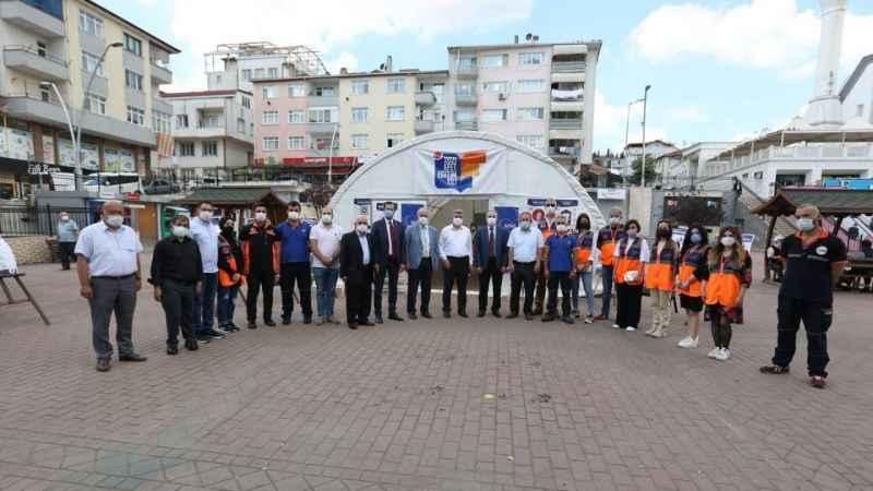 Çakır'dan Derince Ziyareti