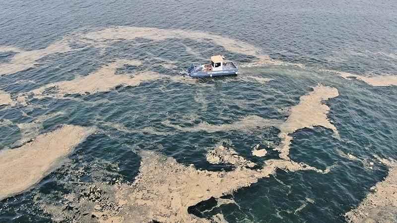 İşte 5 günde Marmara Denizi'nden toplanan müsilaj miktarı