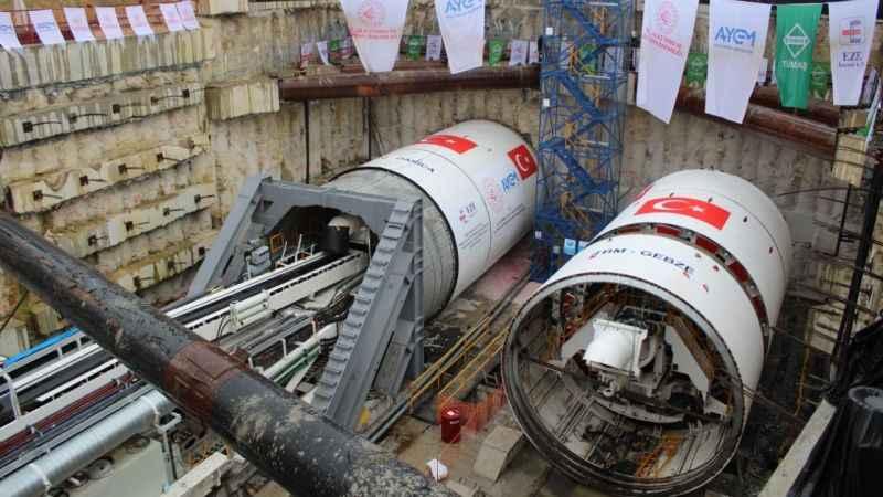 Gebze-Darıca metro hattı 2023 yılında hizmete girecek
