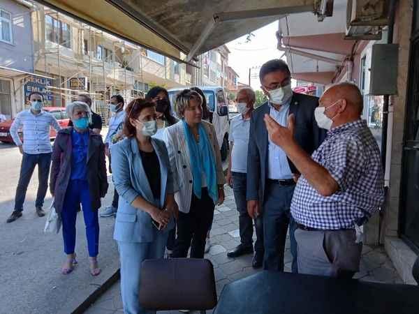 İYİ Parti'den Akmeşe'ye çıkarma