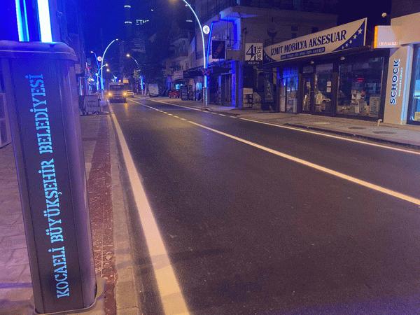 İzmit Bağdat Caddesi'nin çehresi değişti