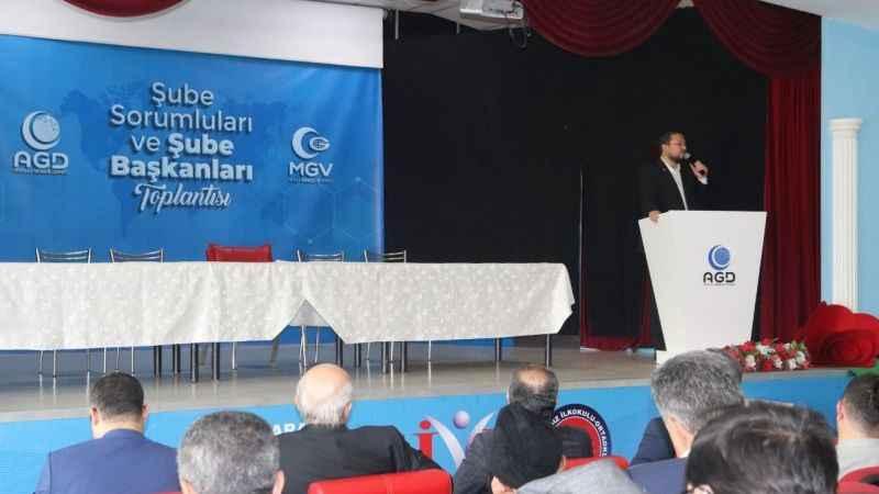 AGD'liler, Ankara'daki toplantıda buluştu