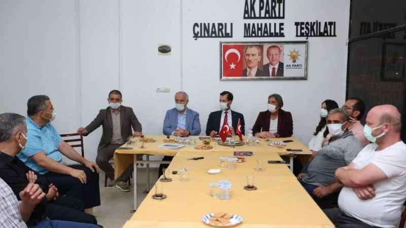 Aygün, Çınarlı Teşkilatı'na konuk oldu