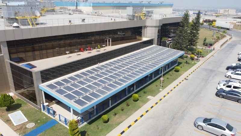 PEPSICO TÜRKİYEenerjisini güneşten alıyor