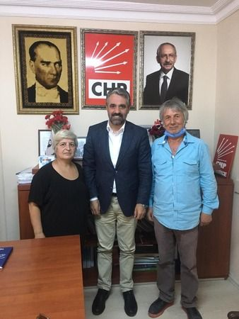 SHP eski ilçe başkanı  CHP'ye üye oldu