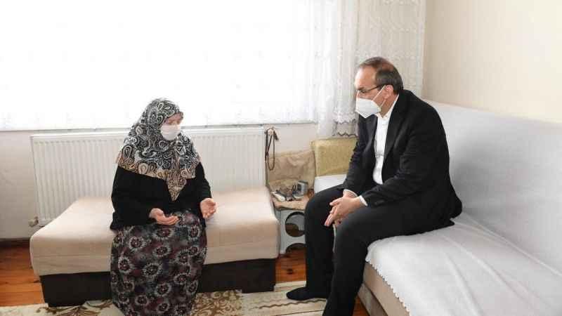 Vali Yavuz, devletin şefkatli elini 87 bin aileye uzattı