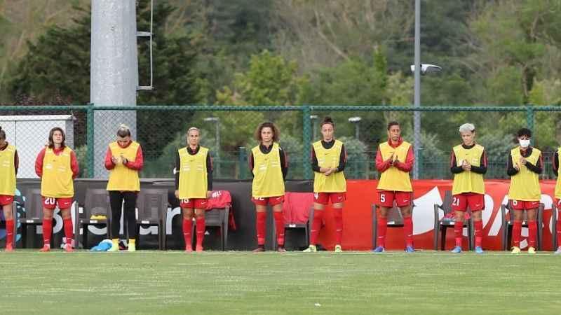 Kadın A Millî Takımı Bulgaristan'ı 3-1 yendi
