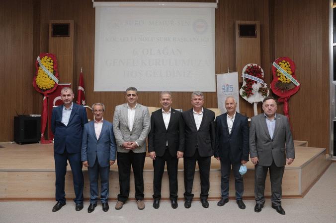Büro Memur-Sen'de  başkan yeniden Türk