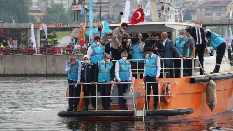 Marmara'ya oksijen verilmeye başlandı