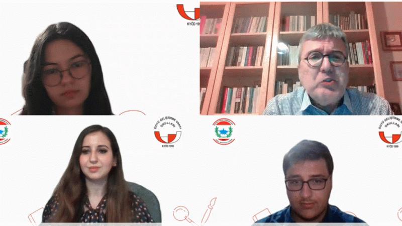"""ODTÜ GV Özel Kocaeli Okulları'ndan """"Edebiyat Gecesi Ve Cahit Ökmen Söyleşisi"""""""