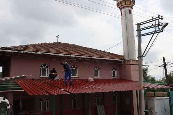 Sofuoğlu Camii cemaati açık havada ibadet edebilecek