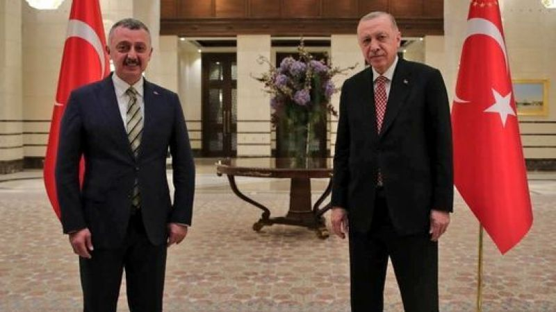 Tahir Büyükakın, Cumhurbaşkanı Erdoğan ile görüştü!
