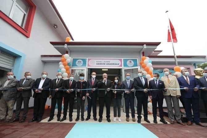 Bakan Varank, GEBKİM  Anaokulu'nun açılışına katıldı