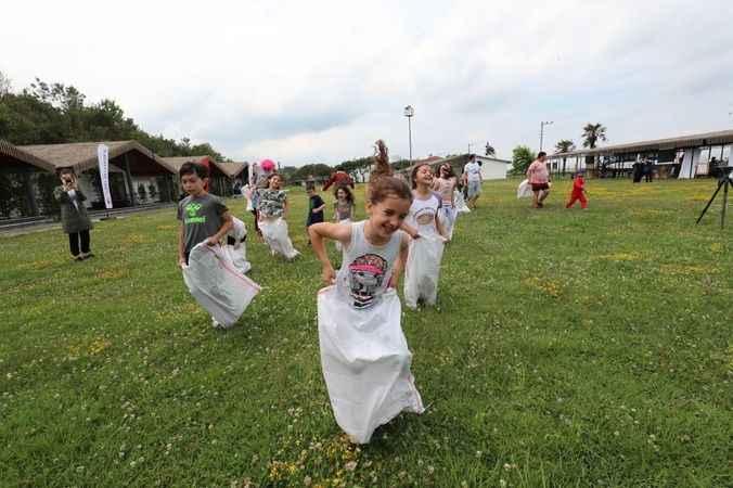 İzmit Belediyesi çocuk maratonuna hazırlanıyor