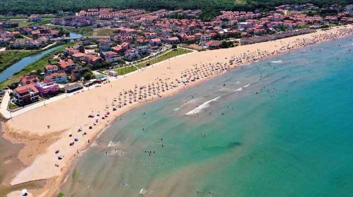 Kandıra'da deniz suyu sıcaklığı hava sıcaklığını geçti