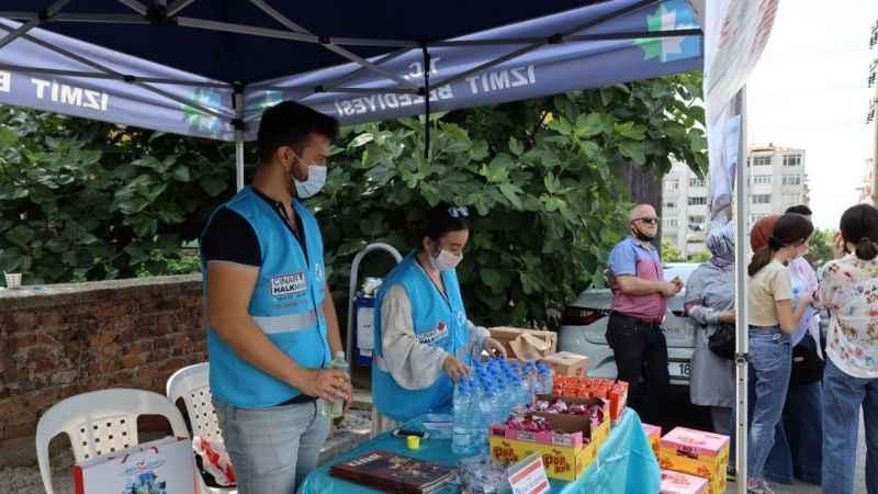 İzmit Belediyesi gençleri YKS'de yalnız bırakmadı