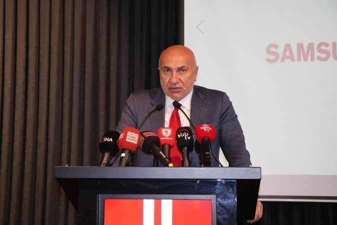 Kocaeli YILPORT'un sahibi Yıldırım, Samsunspor'da güven tazeledi