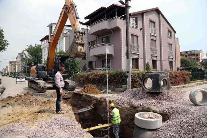 Kartepe Dumlupınar Mahallesi altyapı projesine başlandı