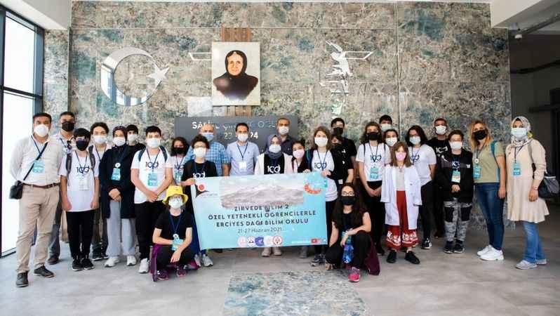 TÜBİTAK Projesi Kapsamında seçilen  sporcular, Kayseri Üniversitesi'ndeydi