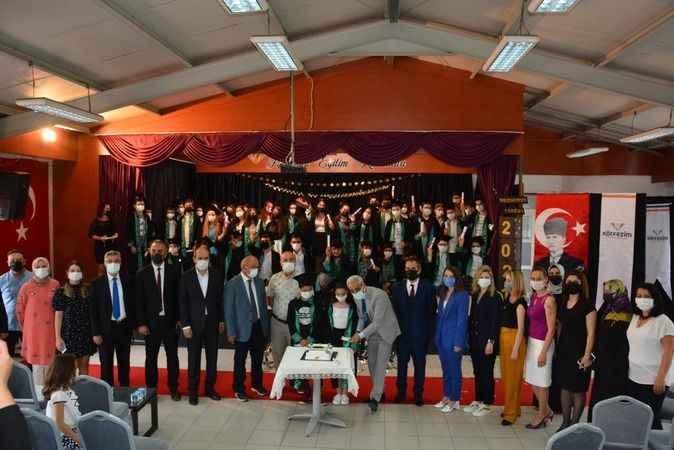 Özel Körfezim'de  mezuniyet heyecanı