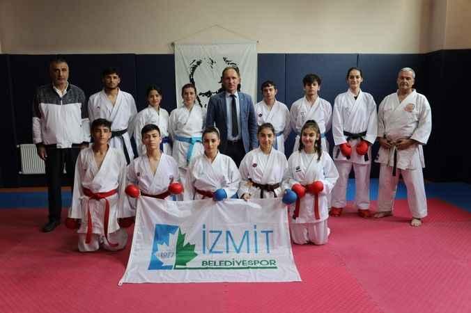 İzmitli karateciler Türkiye Şampiyonası ve Milli Takım seçmelerine hazırlanıyor