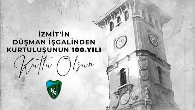 İzmit'in 100. yılı kutlu olsun!