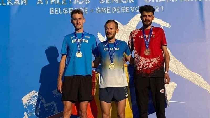 Darıcalı sporcu Balkan üçüncüsü