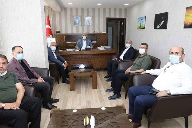 Başkan Söğüt Mardin'de  temaslarda bulundu