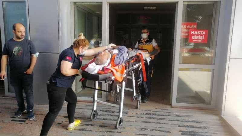 İnşaattan düşen demir ustası yaralandı