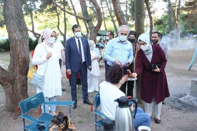 AKP Sırrıpaşa ailesi  piknikte buluştu