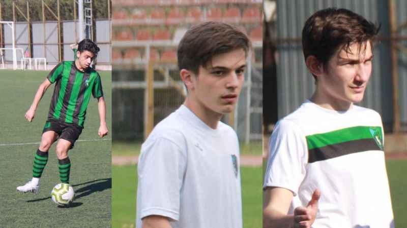 Alt yapıdan 3 futbolcu  Erzurum'a gidiyor