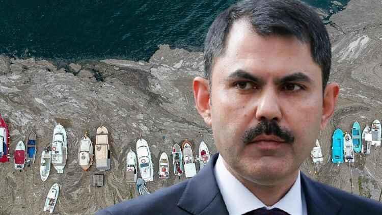 Bakan Kurum Kocaeli'de toplanan müsilajın miktarını açıkladı!