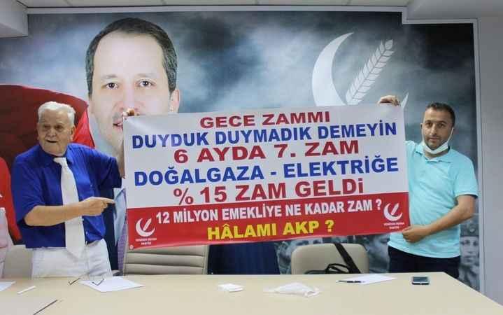 YRP'li Aras, 'zam' tepkisinde  yine mizahını konuşturdu