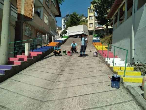 İzmit Belediyesiyle Güneş Sokak güneş açtı