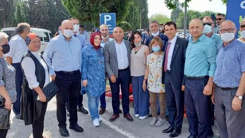 CHP'li Tarhan Sakarya'da vatandaşlarla buluştu