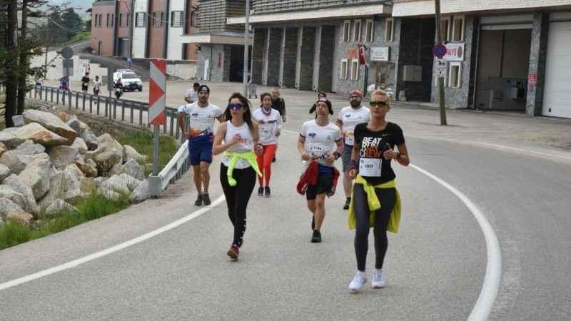 Kocaelili sporcuların da yer aldığı Uludağ büyük maraton başladı
