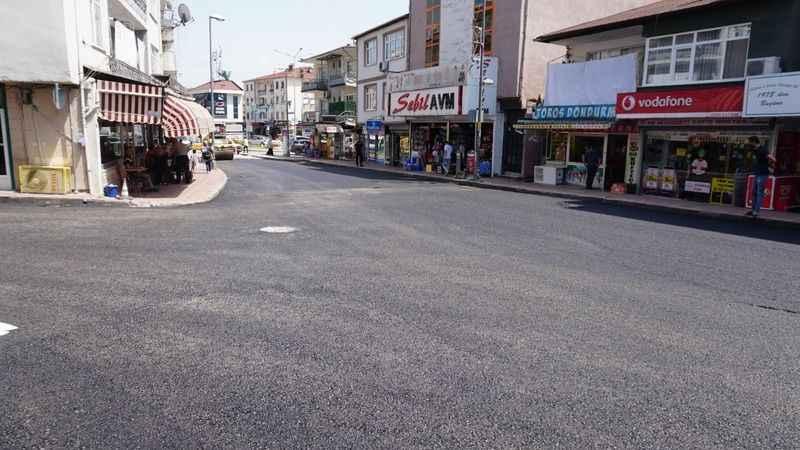 İzmit Belediyesinden Kuruçeşmeesnafı için çalışmalara bayram molası