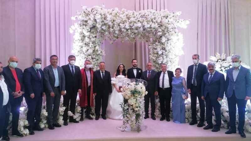 Ziver Gül'ün kızı dünya evine girdi