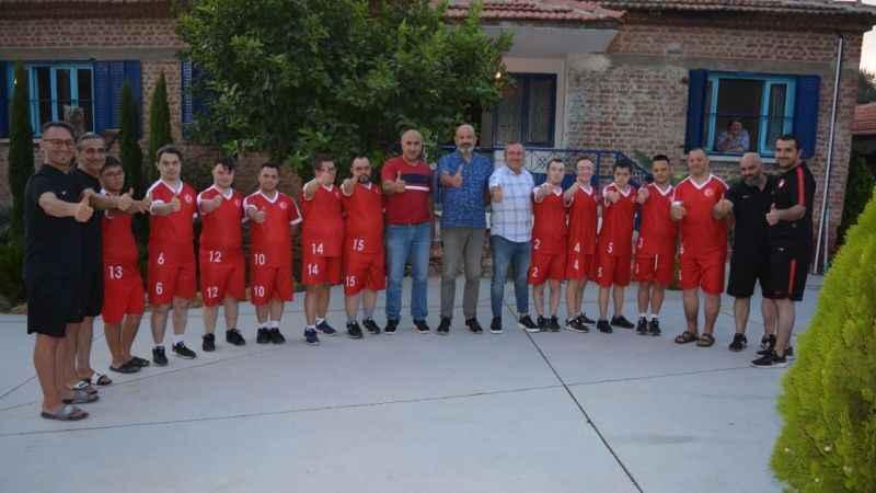Down Sendromlu Futsal Milli Takımı kampa girdi