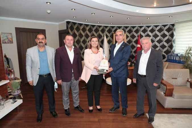 Hürriyet, İpsala Belediye Başkanı'nı ağırladı