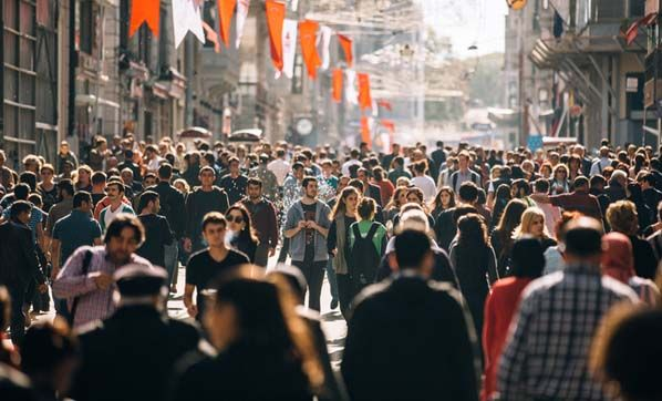Türkiye nüfus büyüklüğünde  235 ülke arasında 19'uncu oldu!