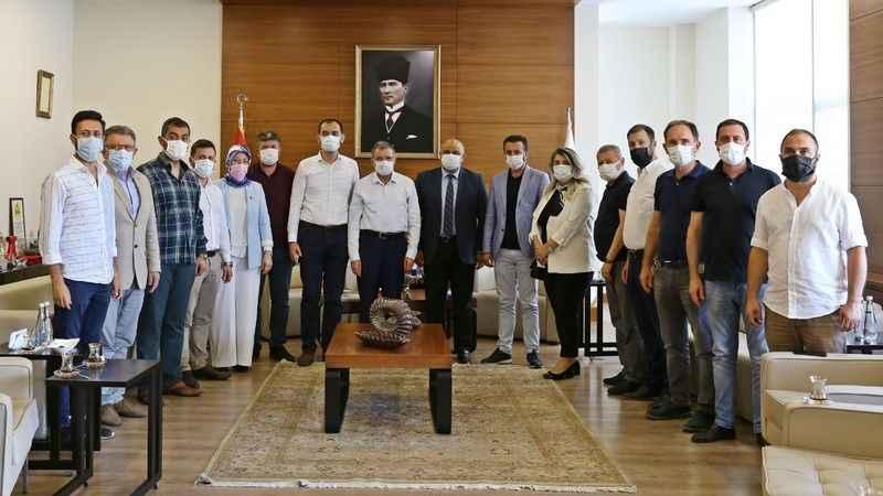 AKP'li Şeker'den  KOTO'ya ziyaret