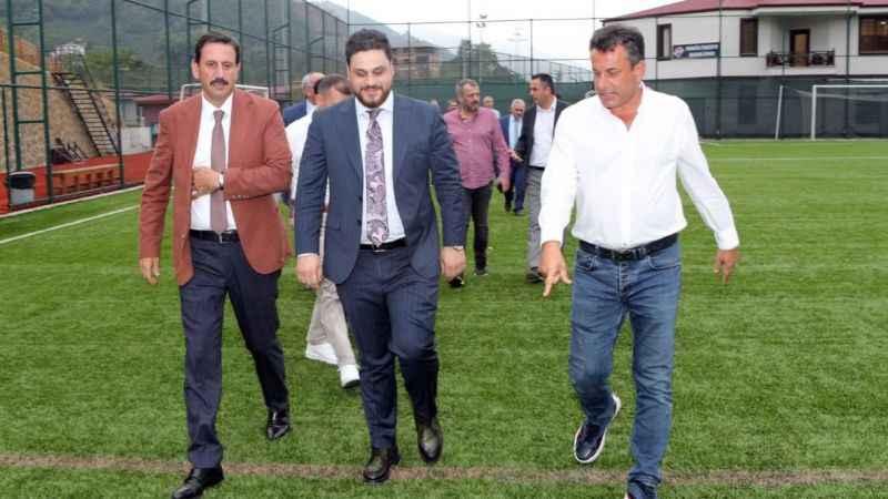 BTP lideri, Hekimoğlu Trabzon kulübünü ziyaret etti