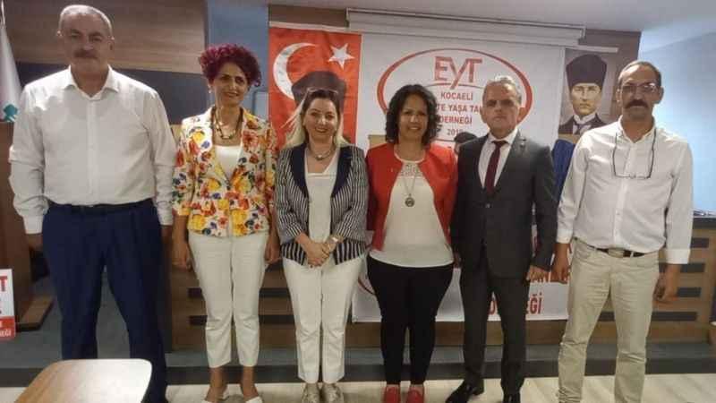 Kocaeli'de EYT Derneği Şubesi Çağlayan'la devam