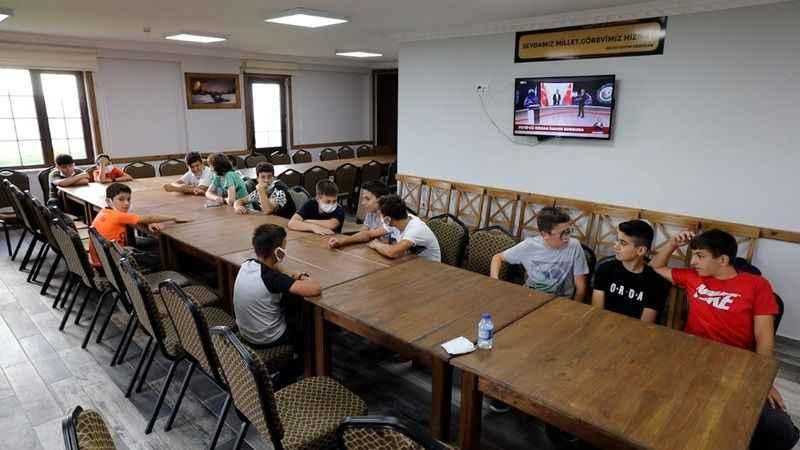 Tepecik Kamp Merkezi İlk Misafirlerini Ağırladı