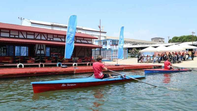 Şişecam Çayırova'nın ilk deniz küreği tekneleri denize indirildi