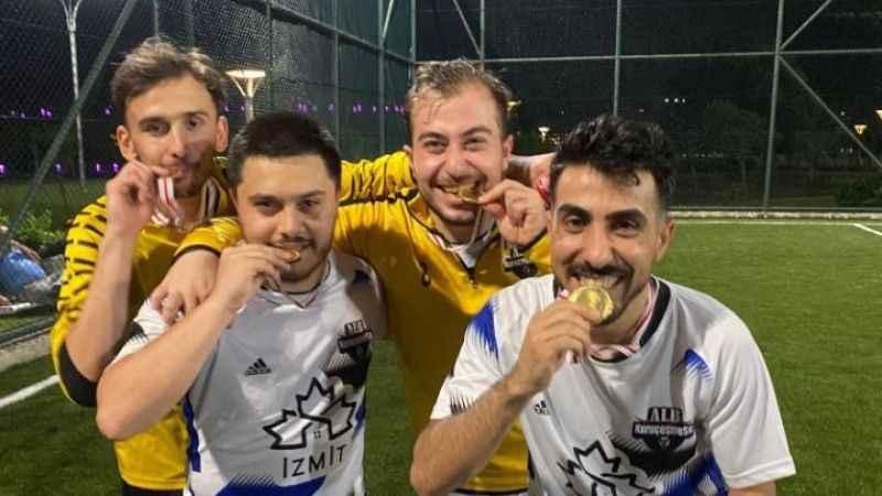 """Rakipbul Kocaeli'de şampiyon ALB Kuruçeşme! """"3-1"""""""