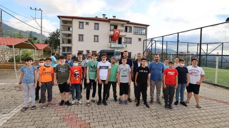 Tepecik Kamp Merkezi ilk misafirlerini ağırladı